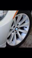Mags BMW et pneus hiver michelan 225/45R17 excellent état