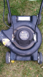 BLACK & DECKER ELECTRIC LAWNMOWER LIMITED USE $75