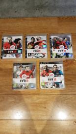 PS3 GAMES.. FIFA 08 -12