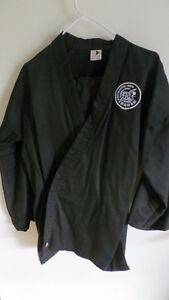 Black Martial Arts Uniform