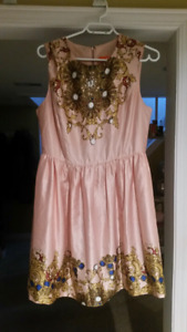 Joe fresh fit n flare dress size 8/ medium