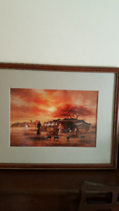 Beduin Family/An Arab Encampment