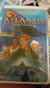 Film VHS En français. Atlantis L' empire Perdu