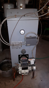 Oil Fired Boiler - 5 Years Old