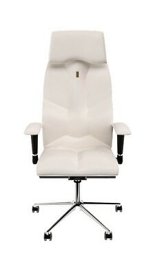 Brand Kulik System Luxury White Executive Ergonomic Office Home Computer Chair