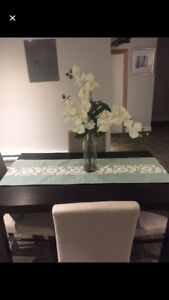Table Runner and Plant