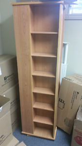 Book Shelf or Movie Stand - 4 sided