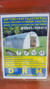Tarp Barn 30x85 New in Box (Unused)