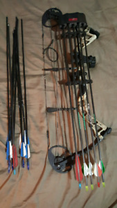 Compound infinite edge hunting bow