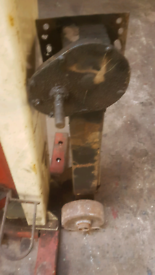 Large jockey wheel ideal for boat or plant trailer