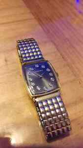 14K solid gold longines watch vintage real diamonds