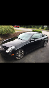 2007 Infiniti G35 Coupe Sports Package