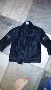 Leather motorcycle jacket - 6 - 12 months  London Ontario image 1
