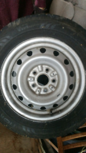 """15"""" 5 bolt rims x4. From Toyota Sienna 1999. 205 65 15"""