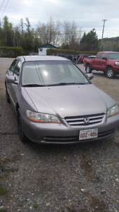 2002 Honda accord for Trade