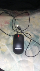 Affordable lenovo wired mouse