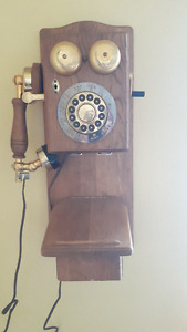 old telephone reproduction
