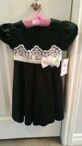Brand New w/ Tag Green Velvet Dress Size 4