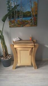 One of a Kind Vanity with Handcrafted sink