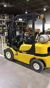 New Yale 5000lb capacity forklift only $525/month!!! London Ontario image 2