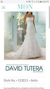David tutera wedding gown