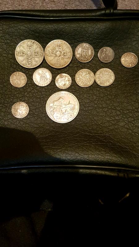 12 silver coins | in Plymouth, Devon | Gumtree