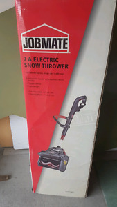 Electronic snowblower