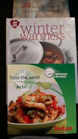 Three cook books