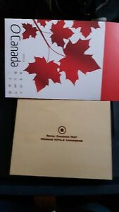 Oh Canada Coin Set with Wooden box