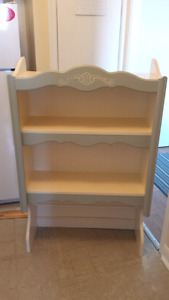 Shelf or Stand  ( Wood ) - Could you in Mudroom for Little Ones