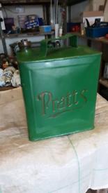 Pratts vintage petrol can
