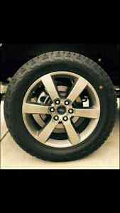 "**wanted**  ford f-150  20"" wheels"
