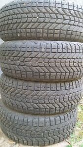 """***LIKE NEW 17"""" WINTER TIRES $200***"""