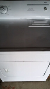 Full size electric dryer
