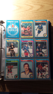1979-80 O-PEE-CHEE HOCKEY SET W. GRETZKY.
