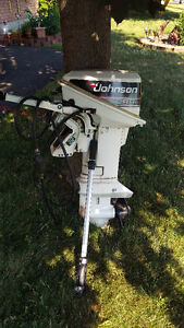Johnson 9.9 hp Outboard