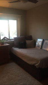 FREE Great mate's bed with storage and mattress