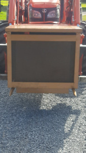 Small child safe wood stove perfect for hunting camp or Grudge