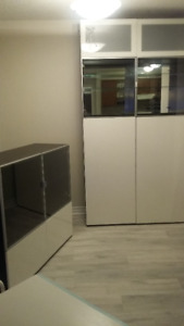 IKEA BESTA display units / wall units