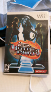 Wii DDR Hottest Party game +4 dance pads / dance mats