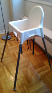 Baby High Chair with Safety Belt