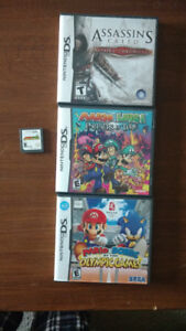 Bowser's Inside Story (no box) and random DS boxes (no games)