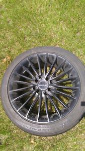 Mag avec pneu d'été