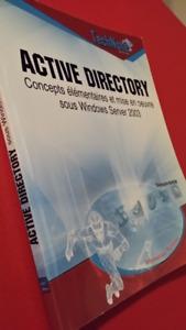 Active Directory Concepts élémentaires