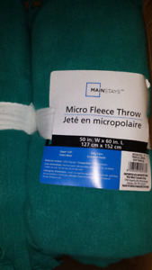 MICRO FLEECE THROW FOR SALE