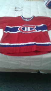Montreal Canadiens jersey men's large