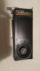 Zotac GTX 760. Fully functional.