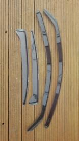 BMW E60 Heko wind deflectors