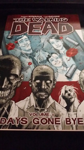 The Walking Dead Vol 1 and Vol 2  1st prints.