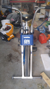 Vintage vélo stationnaire Weider Olympian Super Cycle